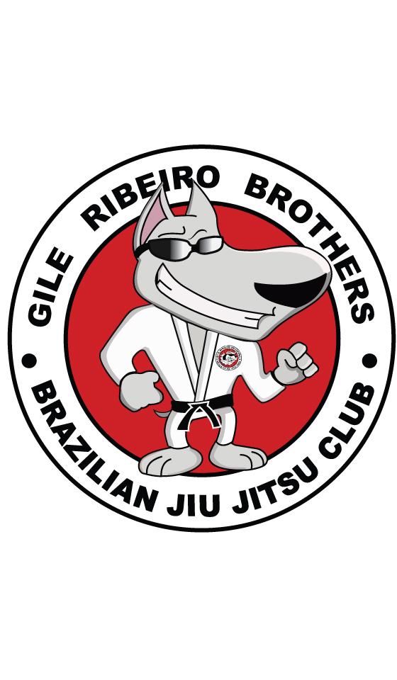 Eis o novo logotipo da equipe de Jiu Jitsu  Gile  Ribeiro finalizado !